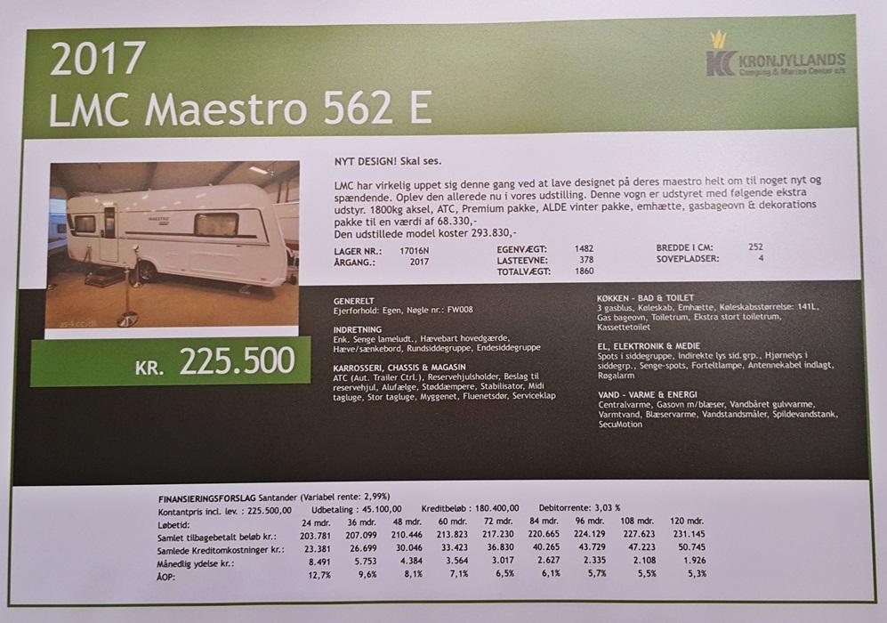 LMC-Maestro-562-E
